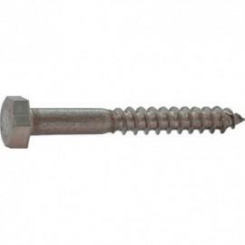 50 St  Plugclip dubbel 25-30 mm naturel