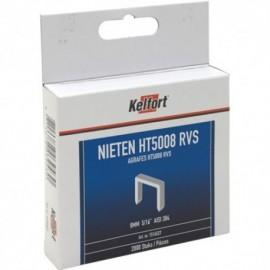Niet RVS 2000st/doos 6mm 1/4 HT50