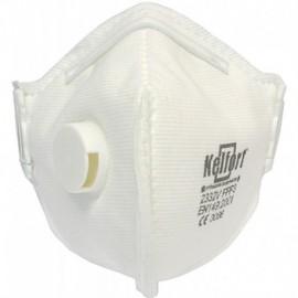 Stofmasker FFP3 vouwbaar+ventiel 2332V