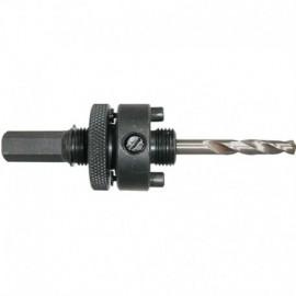 Adaptor 9.5mm (voor gatzaag 14-30mm)