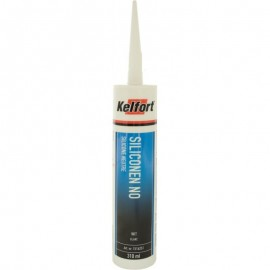 Kelfort Siliconenkit  NO wit 310ml