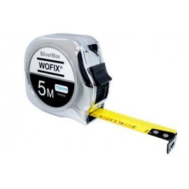 Wofix SilverMax Rolmaat 5M x 25mm